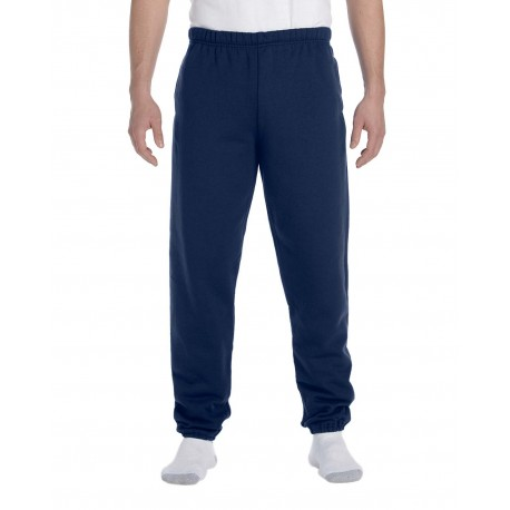 4850P Jerzees 4850P Adult 9.5 oz. Super Sweats NuBlend Fleece Pocketed Sweatpants J NAVY