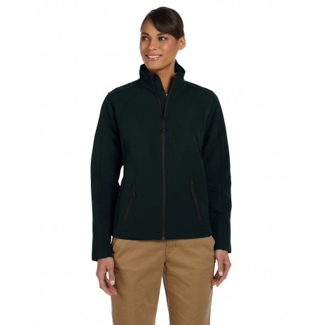 D945W Devon & Jones D945W Ladies' Doubleweave Tech-Shell Duplex Jacket BLACK