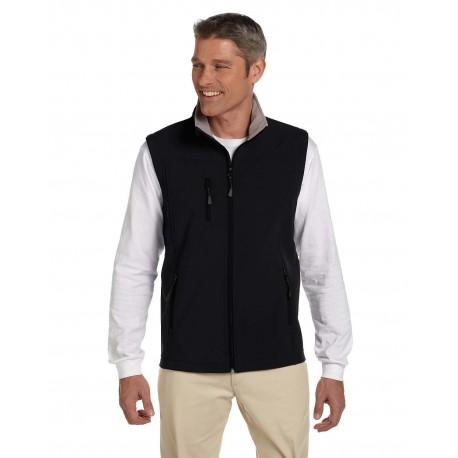 D996 Devon & Jones D996 Men's Soft Shell Vest BLACK