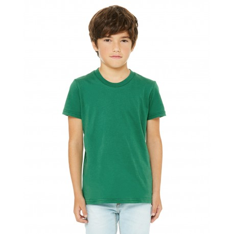 3001Y Bella + Canvas 3001Y Youth Jersey Short-Sleeve T-Shirt KELLY