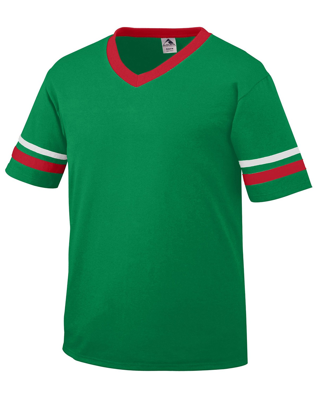 360 Augusta Sportswear KELLY/RED/WHT