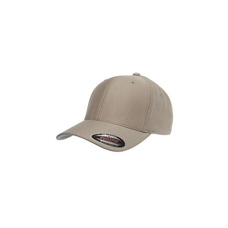 6572 Flexfit 6572 Adult Cool & Dry Tricot Cap KHAKI