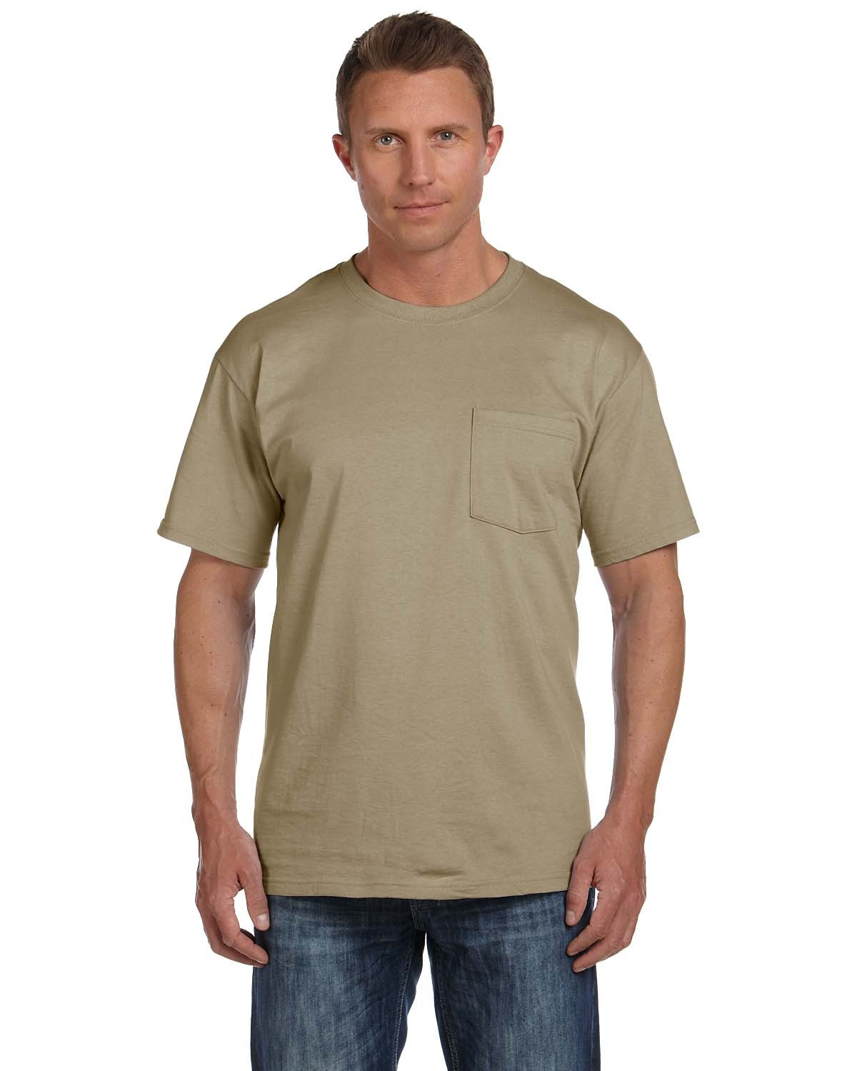 3931P Fruit of the Loom KHAKI