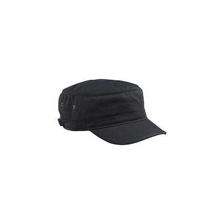 EC7010 Econscious EC7010 Organic Cotton Twill Corps Hat BLACK