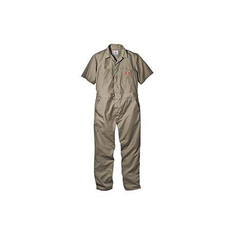 33999 Dickies 33999 Men's 5 oz. Short-Sleeve Coverall KHAKI 2XL