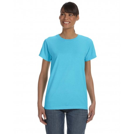 C3333 Comfort Colors C3333 Ladies' Midweight RS T-Shirt LAGOON BLUE