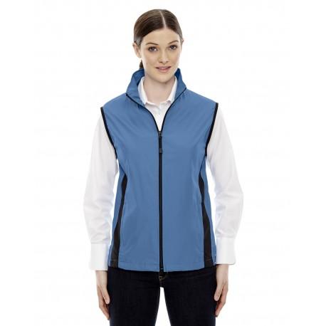 78028 North End 78028 Ladies' Techno Lite Activewear Vest LAKE BLUE 800