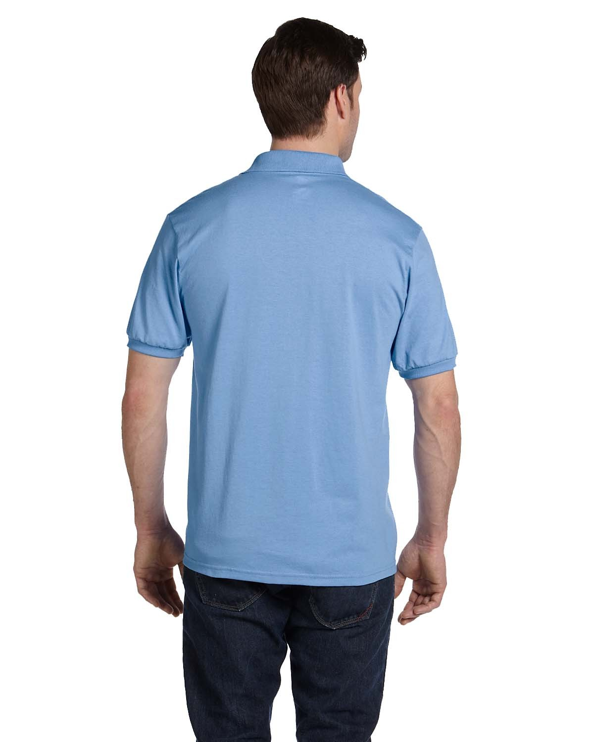 054 Hanes LIGHT BLUE
