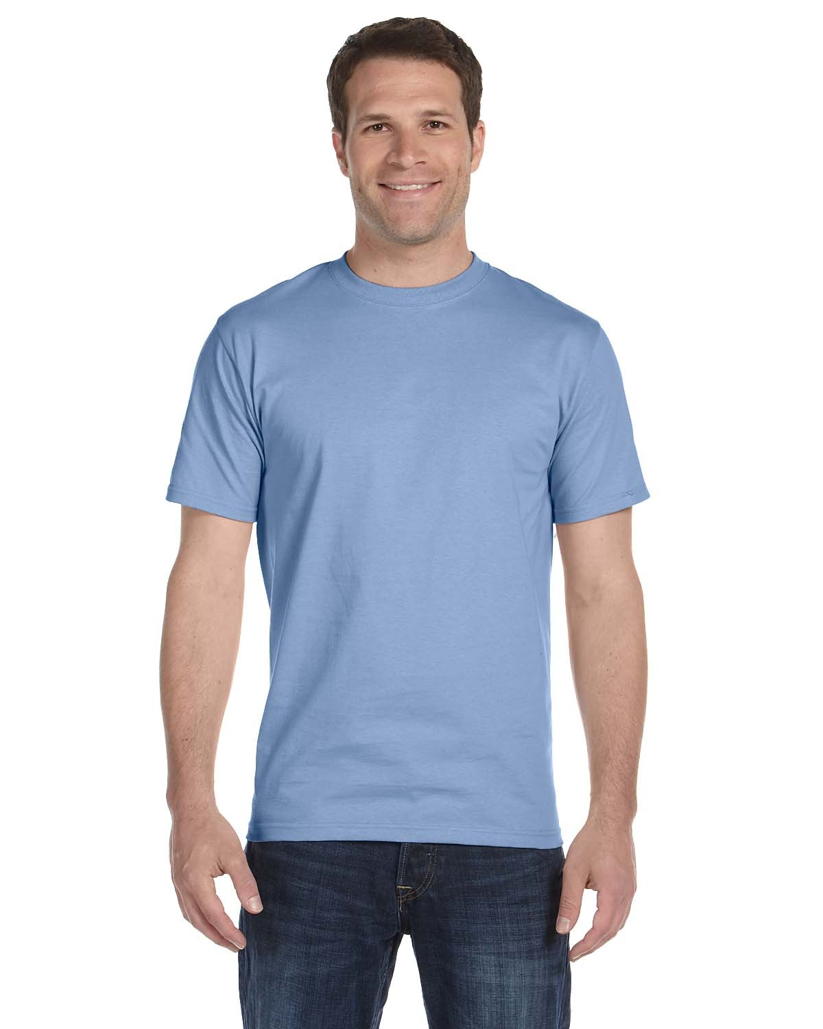 5180 Hanes LIGHT BLUE