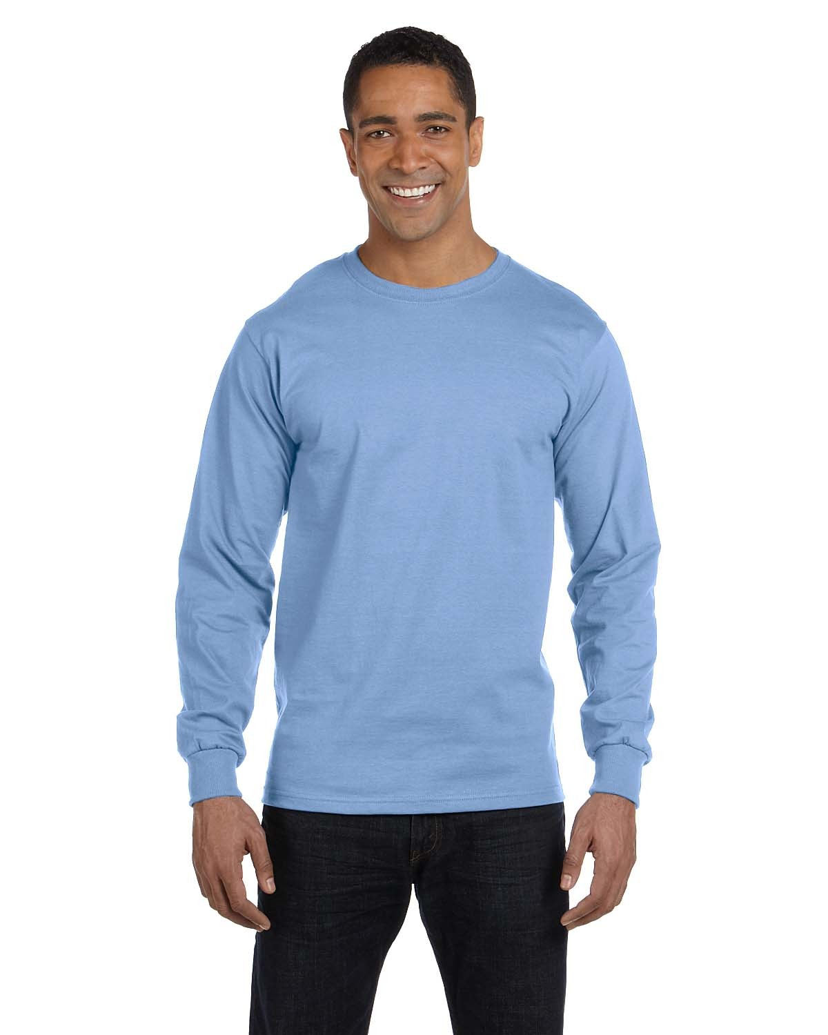 5186 Hanes LIGHT BLUE