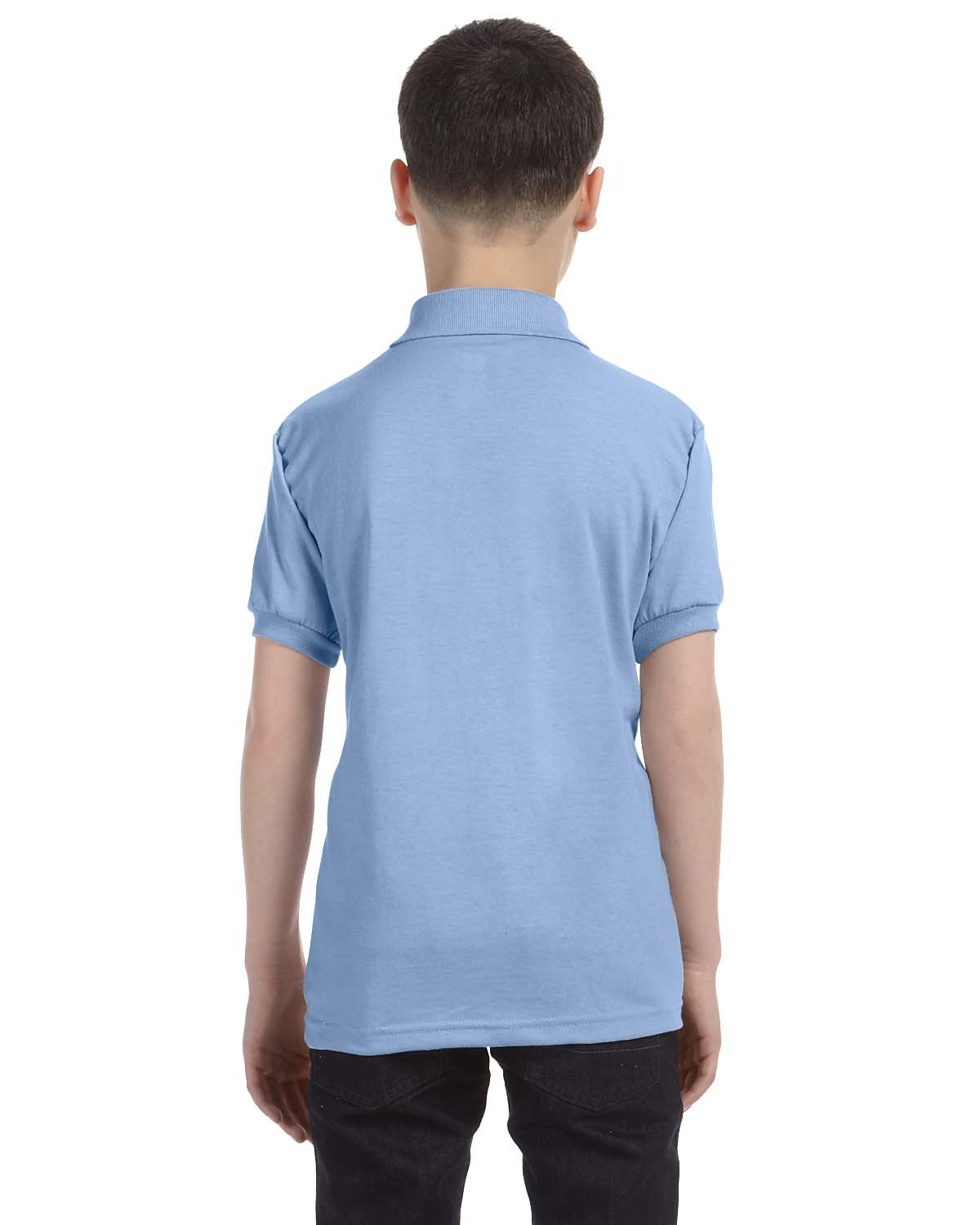 054Y Hanes LIGHT BLUE