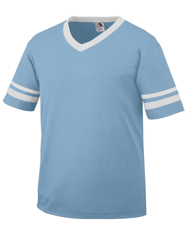 360 Augusta Sportswear LIGHT BLUE/WHT