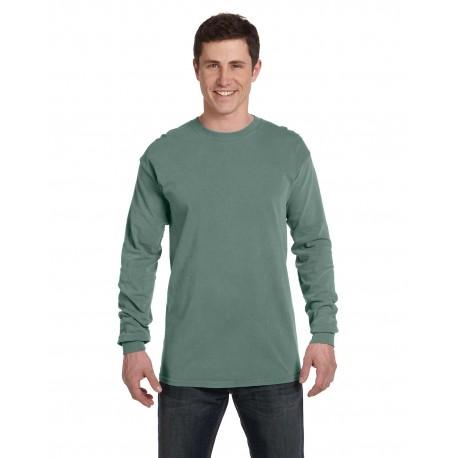 C6014 Comfort Colors C6014 Adult Heavyweight RS Long-Sleeve T-Shirt LIGHT GREEN