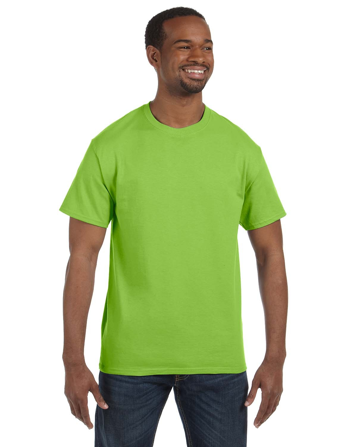 5250T Hanes LIME