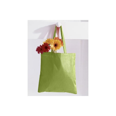 BE003 BAGedge BE003 8 oz. Canvas Tote LIME