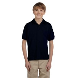 Gildan G880B Youth 6 oz., 50/50 Jersey Polo
