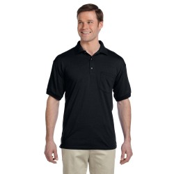 Gildan G890 Adult 6 oz., 50/50 Jersey Polo with Pocket