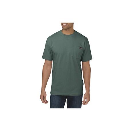 WS450 Dickies WS450 Unisex Short-Sleeve Heavyweight T-Shirt LINCOLN GREEN