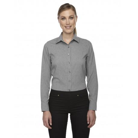 78802 North End 78802 Ladies' Melange Performance Shirt LT HEATHER 832