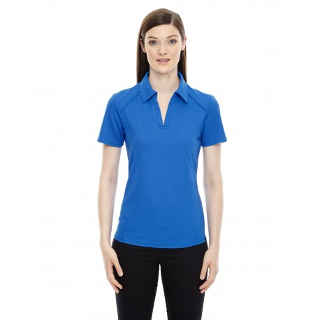 78632 North End 78632 Ladies' Recycled Polyester Performance Pique Polo LT NAUT BLU 417