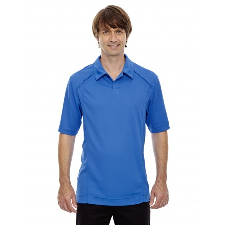 88632 North End 88632 Men's Recycled Polyester Performance Pique Polo LT NAUT BLU 417