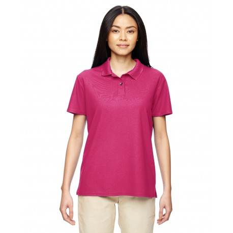 G448L Gildan G448L Ladies' Performance 4.7 oz. Jersey Polo MARBLE HELICONIA