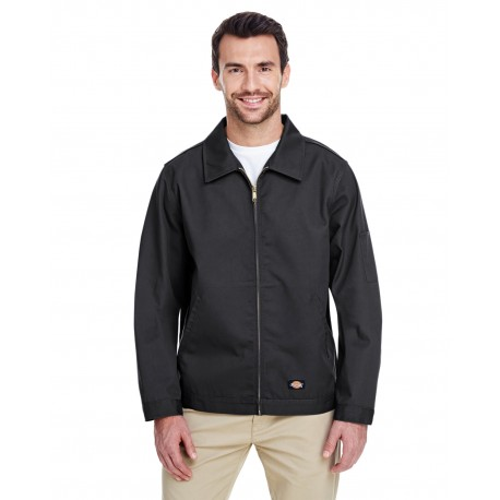 JT75 Dickies JT75 Men's 8 oz. Unlined Eisenhower Jacket BLACK