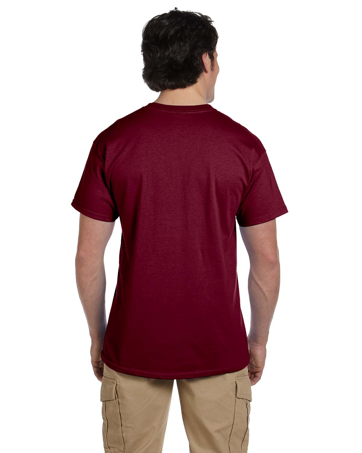 3931 Fruit of the Loom MAROON