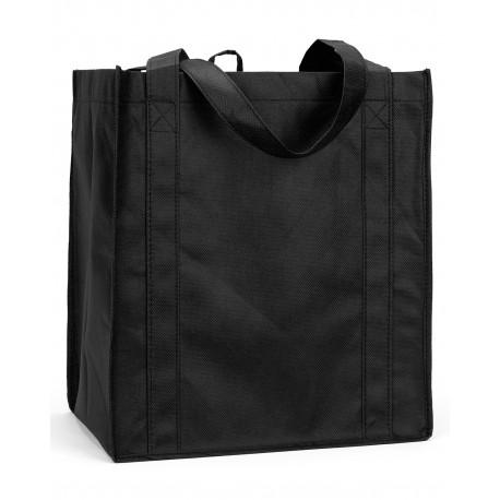 LB3000 Liberty Bags LB3000 Reusable Shopping Bag BLACK