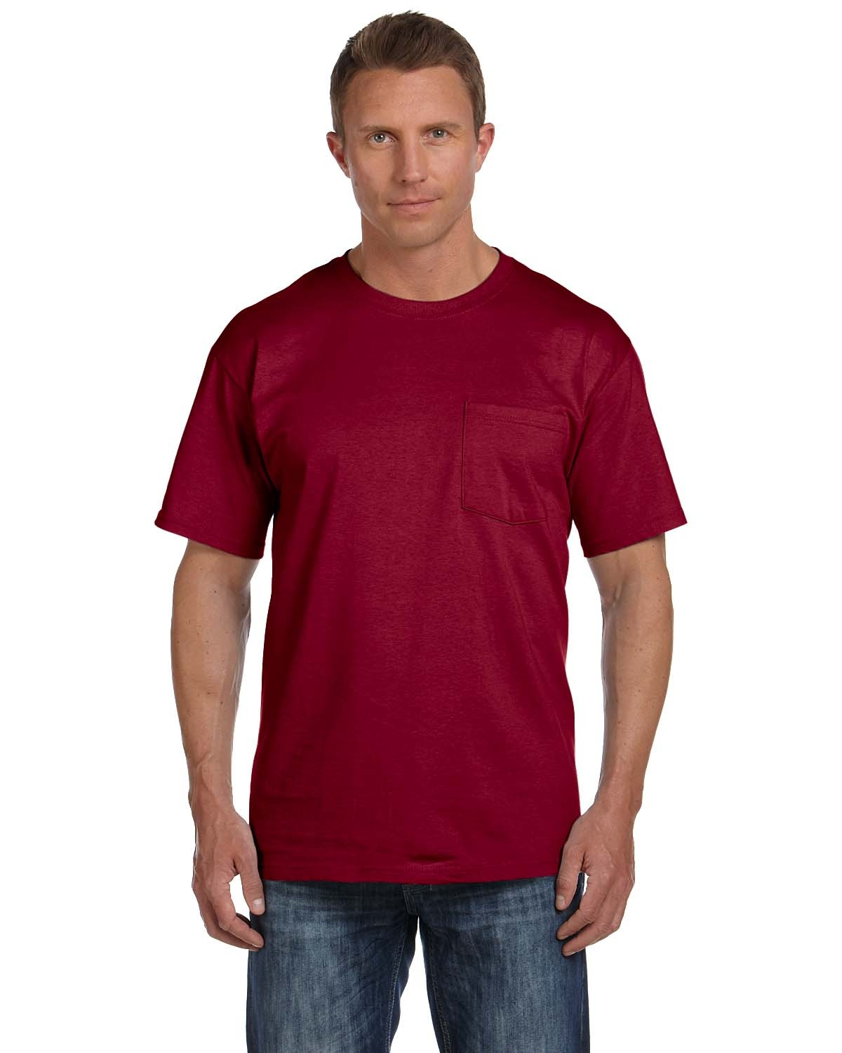 3931P Fruit of the Loom MAROON