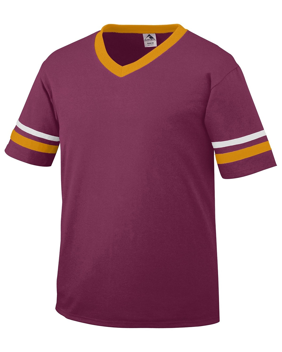 361 Augusta Drop Ship MAROON/GOLD/WH