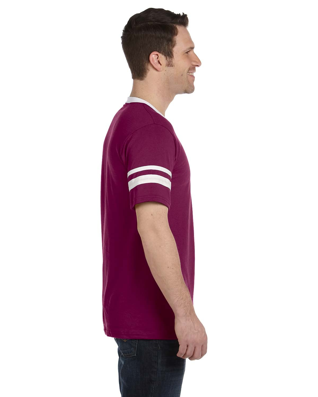 360 Augusta Sportswear MAROON/WHITE