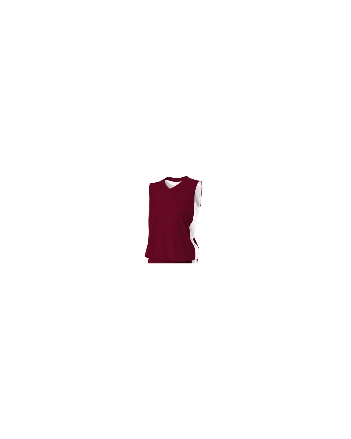 NW2320 A4 Drop Ship MAROON/WHITE