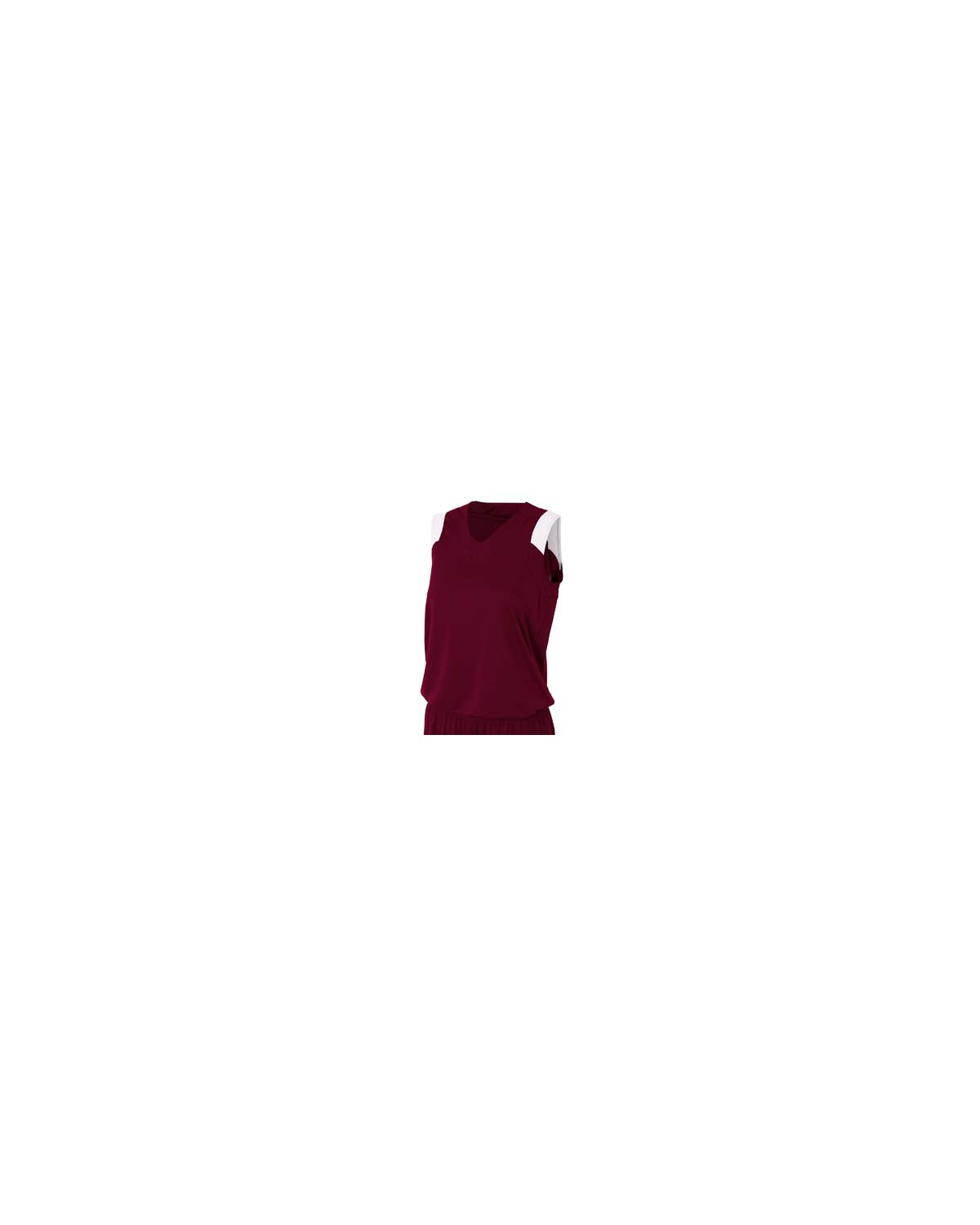 NW2340 A4 Drop Ship MAROON/WHITE