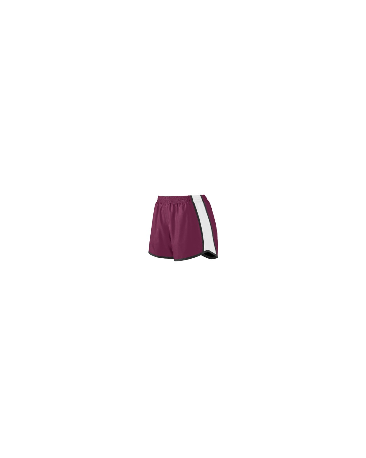 1266 Augusta Drop Ship MAROON/WHT/BLK