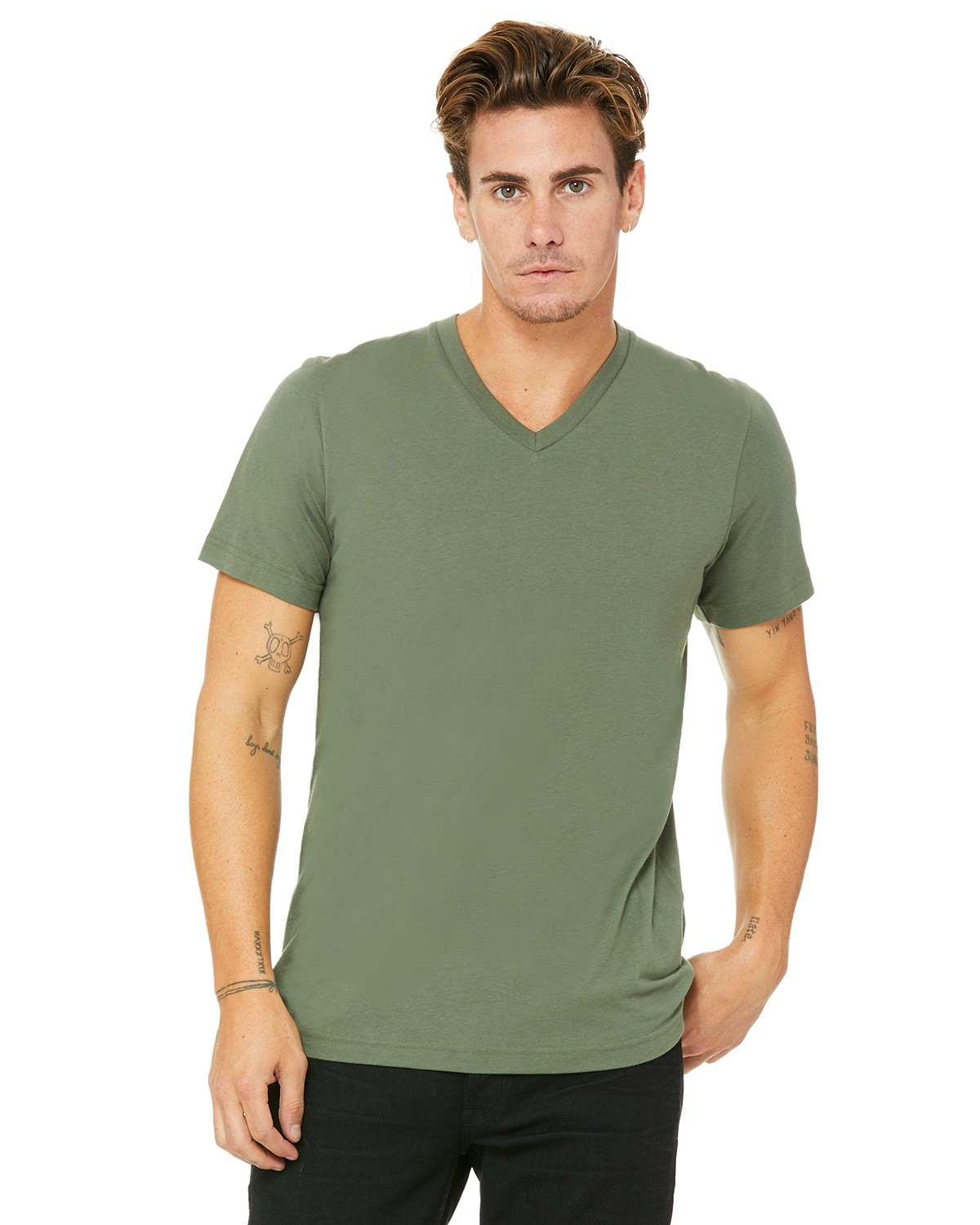 3005 Bella + Canvas MILITARY GREEN