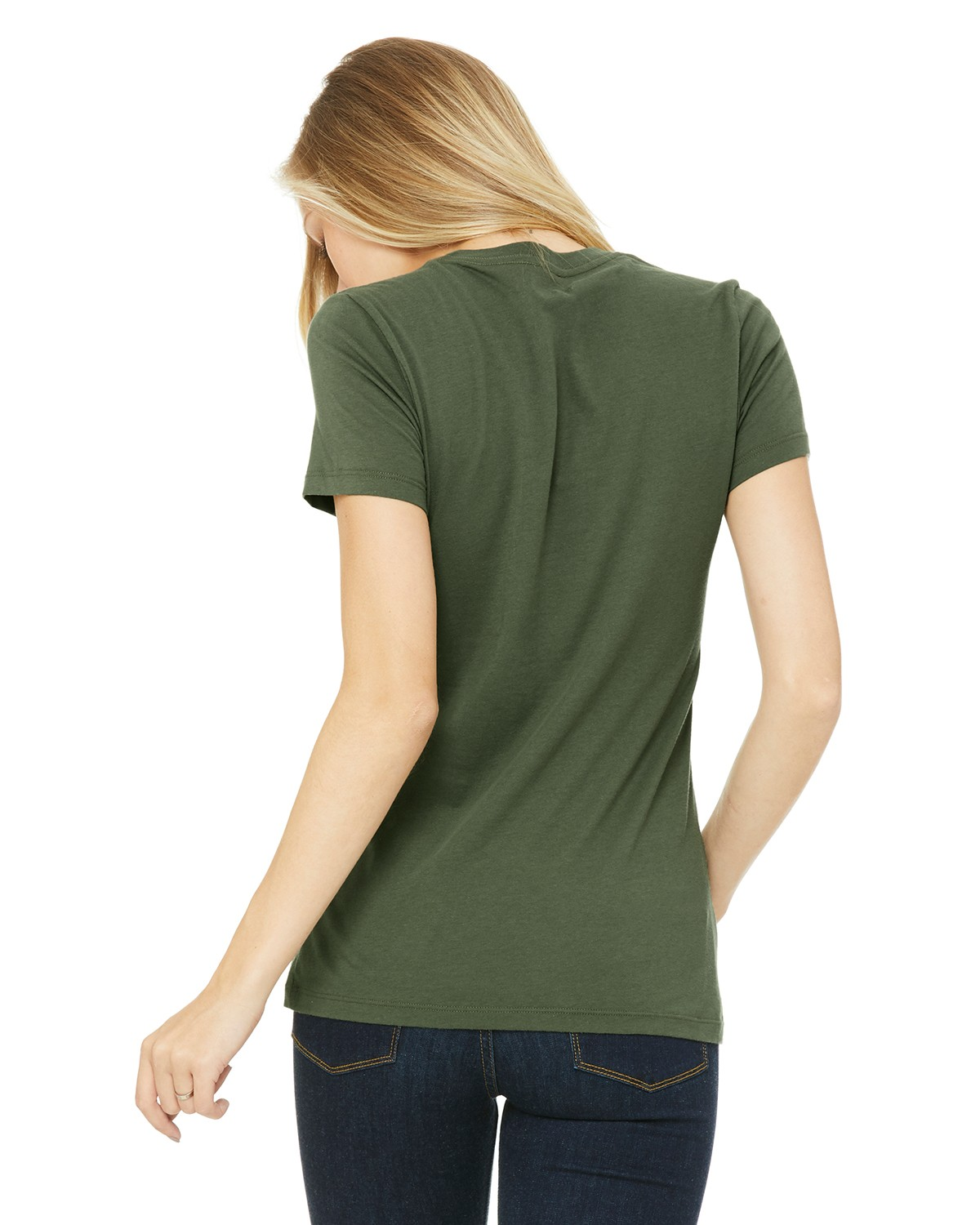 6004 Bella + Canvas MILITARY GREEN