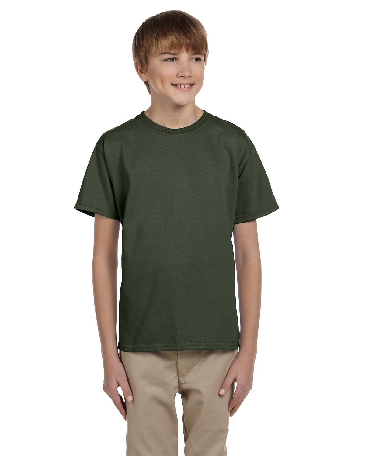 3931B Fruit of the Loom MILITARY GREEN
