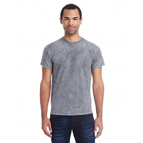 CD1300 Tie-Dye CD1300 Adult 5.4 oz., 100% Cotton Vintage Wash T-Shirt MINERAL GRAY