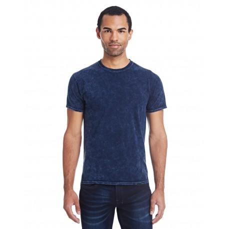 CD1300 Tie-Dye CD1300 Adult 5.4 oz., 100% Cotton Vintage Wash T-Shirt MINERAL NAVY