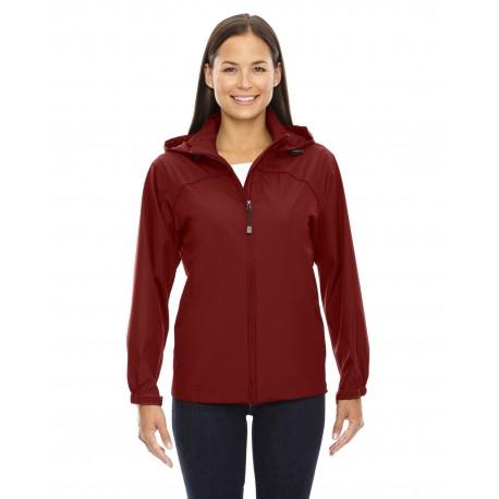 78032 North End 78032 Ladies' Techno Lite Jacket MOLTEN RED 751