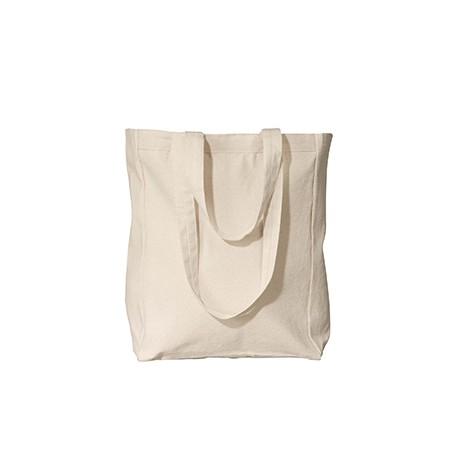 8861 Liberty Bags 8861 Susan Canvas Tote NATURAL
