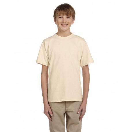 3931B Fruit of the Loom 3931B Youth 5 oz. HD Cotton T-Shirt NATURAL