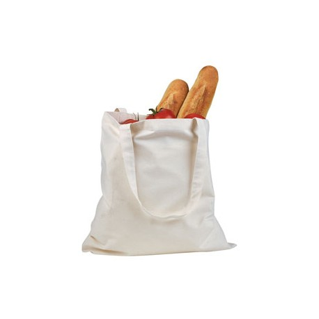 BE007 BAGedge BE007 6 oz. Canvas Promo Tote NATURAL