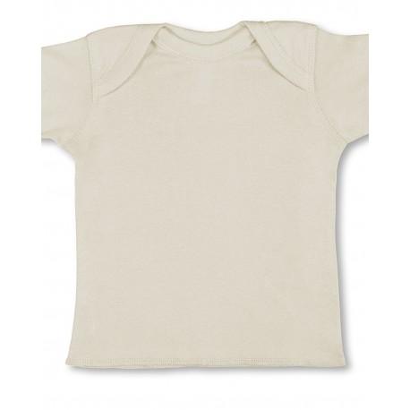 R3400 Rabbit Skins R3400 Infant Baby Rib T-Shirt NATURAL