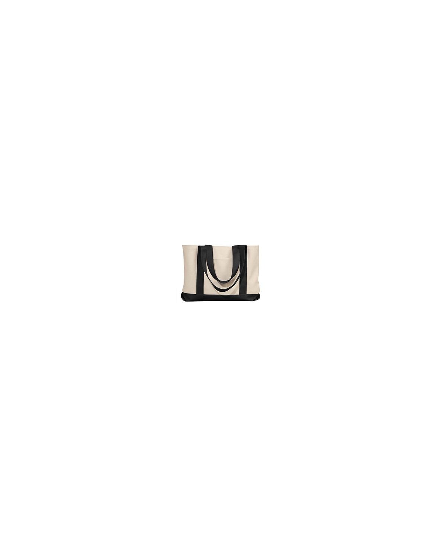 8869 Liberty Bags NATURAL/BLACK
