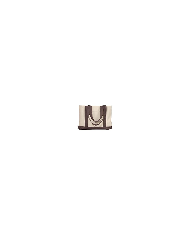 8869 Liberty Bags NATURAL/BROWN