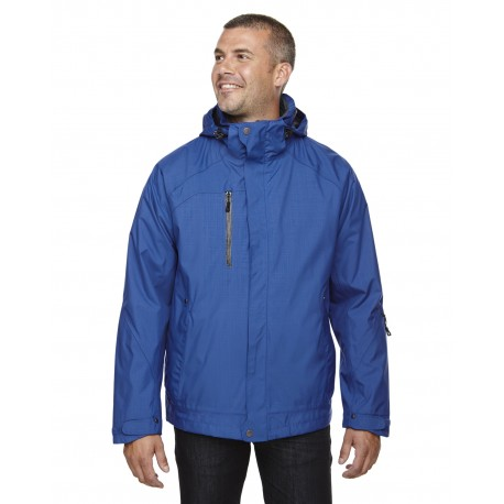 88178 North End 88178 Men's Caprice 3-in-1 Jacket with Soft Shell Liner NAUTICL BLUE 413