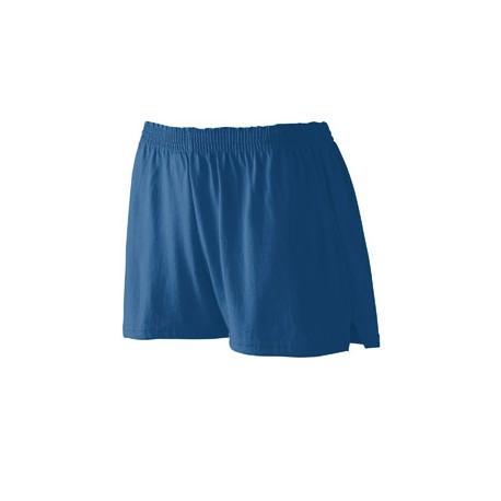 988 Augusta Sportswear 988 Girls' Trim Fit Jersey Short NAVY