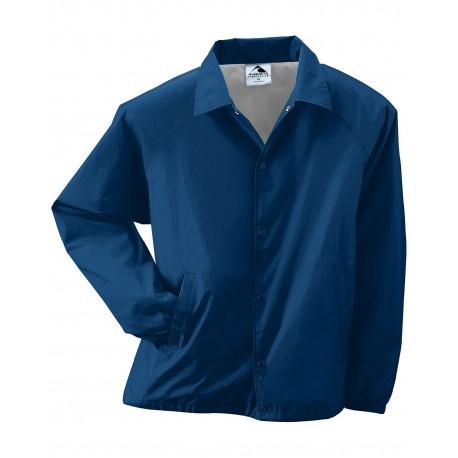 3100 Augusta Sportswear 3100 Unisex Nylon Coach's Jacket NAVY